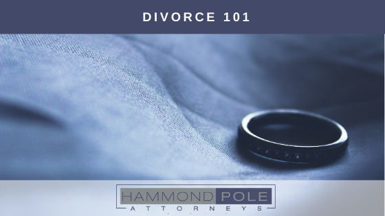 Divorce 101 by Hammond Pole Attorneys