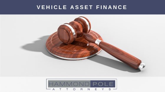 Hammond Pole advises on the non-payment of vehicle instalments